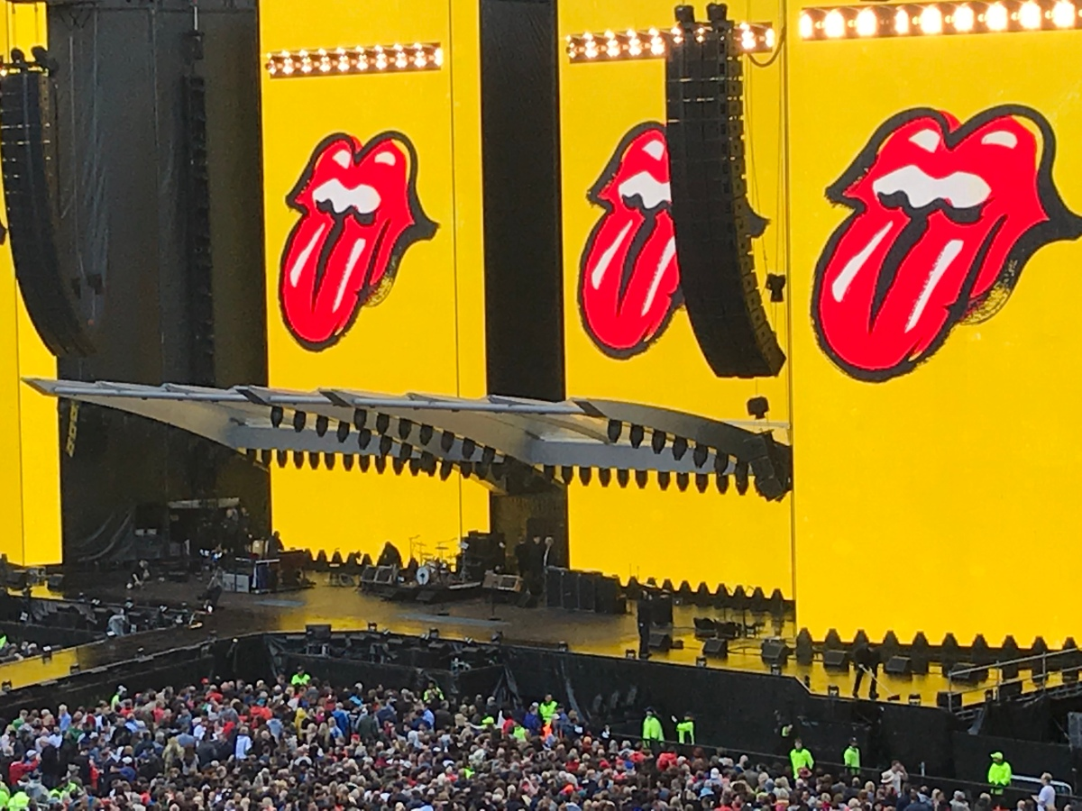 Edinburgh and the Rolling Stones